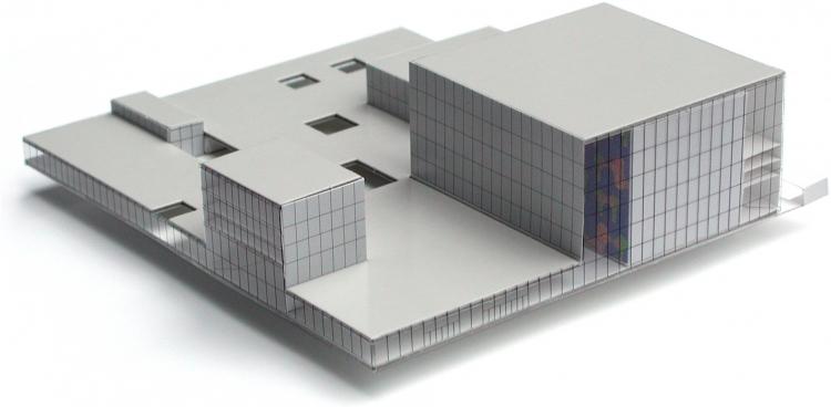 Het ruimtelijk model van de Kunstlinie