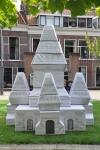 Een educatieve puzzel in de Museumtuin