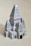 Het ruimtelijk model van de Singosari Tempel