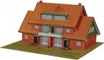 De ruimtelijke modelbouwplaat van ons huis