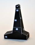 Ruimtelijk model van een bouwplaat van een boortoren