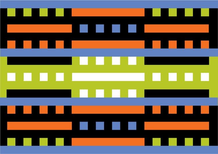 Het definitieve ontwerp voor de vlag