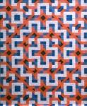Een wandkleed van papier