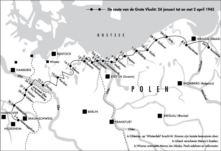 Een routekaart in een boek
