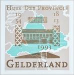 Plattegrond van Gelderland